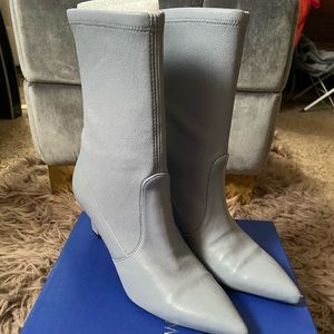Stuart Weitzman Leather Booties